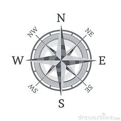 Compass Icon Isolated On White Background - Download From Over 33 Million High Quality Stock Photos, Images, Vectors. Sign up for FREE today. Image: 40638479