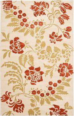 Capri floral rug (safavieh)