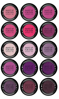 New! Make Up For Ever Artist Shadow for Fall 2014