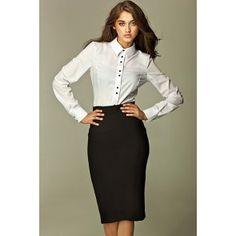 European Brand: Nife All black tea length pencil skirt Fabric: Polyester, Viscose, Spandex S-XXL Size S M L XL XXL Length 71 cm 71 cm cm cm 72 cm Hips 93 cm 97 cm 101 cm 105 cm 109 cm Bottom width 86 cm 88 cm 90 cm 92 cm 94 cm Pencil Cut Skirt, Pencil Skirt Tutorial, Pencil Skirt Casual, High Waisted Pencil Skirt, Pencil Skirts, Pencil Dresses, Pencil Dress Outfit, Pencil Skirt Outfits, Dress Up
