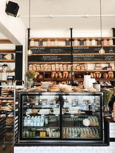 Bakery Shop Design, Coffee Shop Design, Cafe Design, Restaurant Design, Visit Sydney, Sandwich Shops, Bakery Cafe, Bakery Shops, Cafe Shop