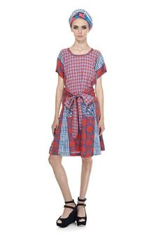 The fun and joy of it!  I wish the neckline were a little more interesting though.  Marc by Marc Jacobs Molly Check Dress $548