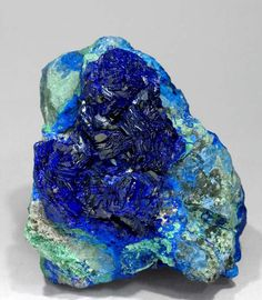 Azurite with Malachite from the Congo by Fabre Minerals