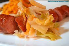 Carrot Ginger Sauerkraut - Enjoying this Journey