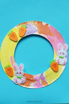 Grab a paper plate and make this super simple Easter wreath craft for kids. This is easy enough for preschoolers and toddlers while school age kids can max the decorating. Cheap Candles, Diy Candles, Crafts For Kids To Make, Easy Crafts, Easter Crafts For Kids, Paper Easter Crafts, Sheep Crafts, Easter Stickers, Easter Wreaths