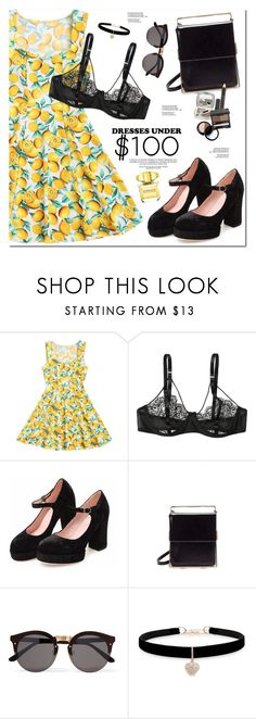 """""""Summer Dresses"""" by oshint ❤ liked on Polyvore featuring Illesteva, Betsey Johnson and Versace"""