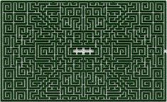 the shining maze Minecraft Map