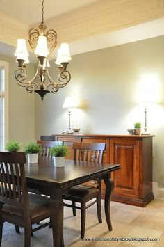 Pewter paint colors and pedestal on pinterest for Horizon benjamin moore grey