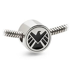 S.H.I.E.L.D. Charm Bead   ThinkGeek