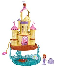 Disney Sofia the First - 2-in-1 Sea Palace Playset Mattel   sc 1 st  Pinterest & Playhut Sofia The First Princess Castle Tent * ** AMAZON BEST BUY ...