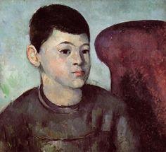 Portrait of the Artist's Son  Paul Cezanne  Date: 1885  oil, canvas  Musée de l'Orangerie, Paris, France