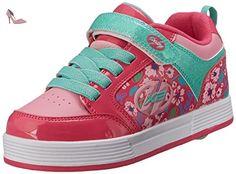 Heelys X2 Thunder, Chaussures de Tennis Fille, Violet (Berry / Light Pink / Mint), 35 EU - Chaussures heelys (*Partner-Link)