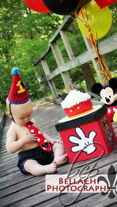 Mickey first birthday