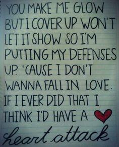 Heart Attack Demi Lovato
