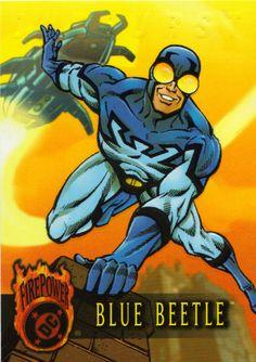 blue beetle | Hero Spotlight: Blue Beetle (Ted Kord)