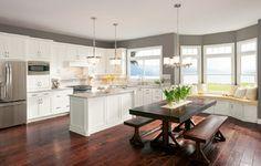 Shenandoah Cottage White Cabinets