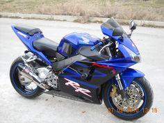 HONDA CBR954 -- love the blue!!!