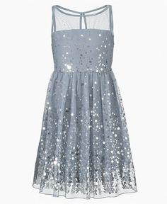 Ruby Rox Kids Dress, Girls Sequin Illusion Dress - Kids Dresses - Macys