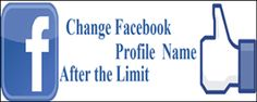 Change Profile or Id name After crossing Name Limit.