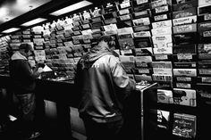 Black Market Records, Soho, London.