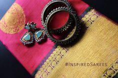 Simple Pink Koorai Saree London UK. Bridal Wedding Kanchipuram Saree.  https://www.facebook.com/inspiredsarees https://www.instagram.com/inspiredsarees/