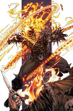 Both are at their strongestThis is Johnny Blaze Ghost Rider and Al Simmons day of prep for bothFight takes place in an unknown hellNo BFRIn cha Marvel Comics Art, Bd Comics, Marvel Heroes, Marvel Dc, Marvel Comic Character, Comic Book Characters, Marvel Characters, Comic Books, Ghost Rider Johnny Blaze