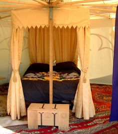 Bed Canopy and Quilt