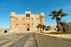 Egypt, Alexandria, fortress Kait-bay #Egypt, #Alexandria, #fortress #Kait-bay