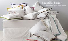 http://www.serenaandlily.com/#  Signature Bedding, Furniture and Décor for Nursery & Home | Serena & Lily