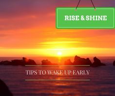 A few weeks ago, I would definitely have been the last person ever, to be giving tips and advice on how to wake up early. I never considered myself an early riser. And my constant tarndiness to wor… How To Wake Up Early, Motivate Yourself, Advice, Motivation, Business, Tips, Inspiration, Biblical Inspiration, Store