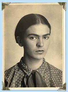 portrait of Frida
