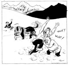 This British cartoon was published in January 1949.