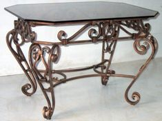 For Rent Chairs And Tables Referral: 6202947529 Wrought Iron Garden Furniture, Wrought Iron Decor, Iron Console Table, Iron Table, Ikea Outdoor, Diy Outdoor Furniture, Furniture Vanity, Iron Furniture, Metal Beds