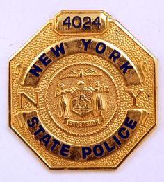 New York State Police Badge