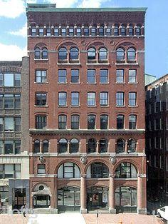 loft building- boston. 717 Atlantic Avenue condominium