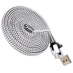mySimple [6' Feet - 5 Pack] of Micro USB 2.0 Data Sync Ch... https://www.amazon.com/dp/B01G7J44AO/ref=cm_sw_r_pi_dp_x_mGA6xbF66F21T