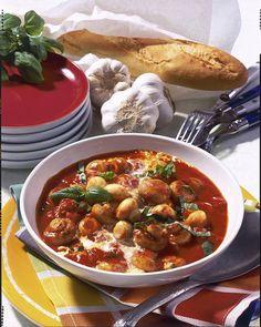 Unser beliebtes Rezept für Champignons in Tomaten-Knoblauch-Rahm und mehr als 55.000 weitere kostenlose Rezepte auf LECKER.de.