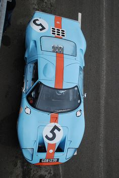 Gulf Ford GT40. Defining Perfection ...