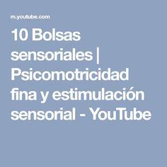 10 Bolsas sensoriales | Psicomotricidad fina y estimulación sensorial - YouTube Youtube, Montessori, Craft, Sensory Bags, Sensory Activities, Alcohol Games, Crib, Sweetie Belle, Youtubers