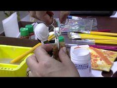 Mulher.com - 17/08/2015 – Decoupage em gesso – Celia Bonomi PT2 - YouTube