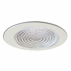 $15.65 - 4-Inch Line Voltage Recessed Lighting Trim with Fresnel Lens for Shower