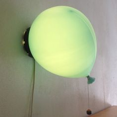 Located using retrostart.com > Balloon Ceiling Lamp by Yves Christin for Bilumen