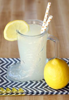 {Just 3 Ingredients!} - The Frugal Girls Fresh Squeezed Lemonade Recipe! {Just 3 Ingredients!} - The Frugal Girls Fresh Squeezed Lemonade Recipe! {Just 3 Ingredients!} - The Frugal Girls Strawberry Drink Recipes, Homemade Strawberry Lemonade, Frozen Drink Recipes, Homemade Lemonade Recipes, Frozen Drinks, Homemade Gatorade, Raspberry Lemonade, Lemonade Punch Recipe, Slushie Recipe