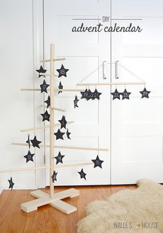 DIY:  A Starry Advent Calendar
