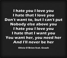 i want you i love you i need you lyrics