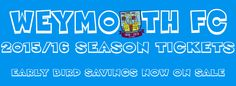 Weymouth FC make good use of the coat of arms.