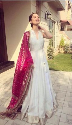 Indian designer outfits - Designer gown Get the outfit for Manufacturer rate call or WhatsApp at Reposted Via @ ethnic world Indian Wedding Outfits, Pakistani Outfits, Indian Outfits, Dress Wedding, Indian Gowns Dresses, Indian Fashion Dresses, Party Wear Indian Dresses, Indian Attire, Indian Ethnic Wear