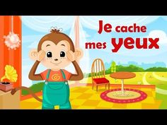 Je cache mes yeux - French nursery rhyme for kids and babies (with lyrics) Kids Nursery Rhymes, Rhymes For Kids, French Teaching Resources, Teaching French, French Nursery, French Songs, Classroom Routines, Core French, French Education