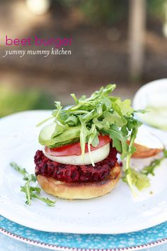 Yummy Mummy Kitchen: Beet Burger Recipe