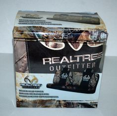 Realtree Outfitters Bench Seat Cover Universal Fits Most Camo Camouflage New